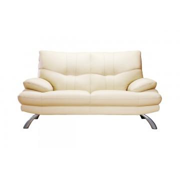 Dante 1874 2 Seaters Leather Sofa