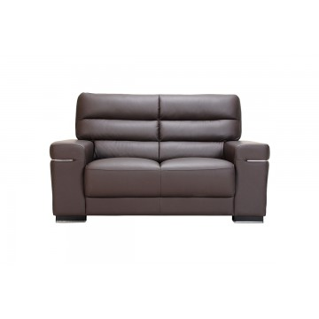 Hannah 2 Seater Leather Sofa - Courts Megastore Exclusive