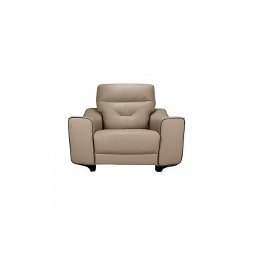 Dante  5447 1 Seater Leather Sofa