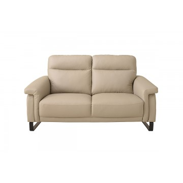Stephanie 2 Seater Leather Sofa - Courts Megastore Exclusive