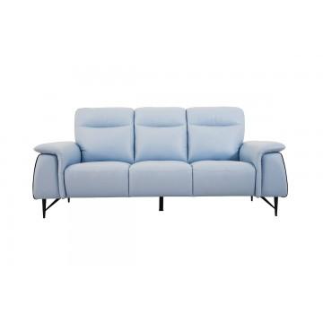 Cosimo 3 Seater Leather Sofa - Courts Megastore Exclusive