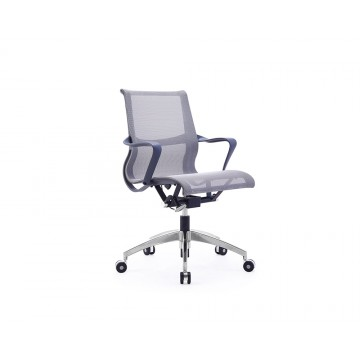 Becky Office Chair in Grey